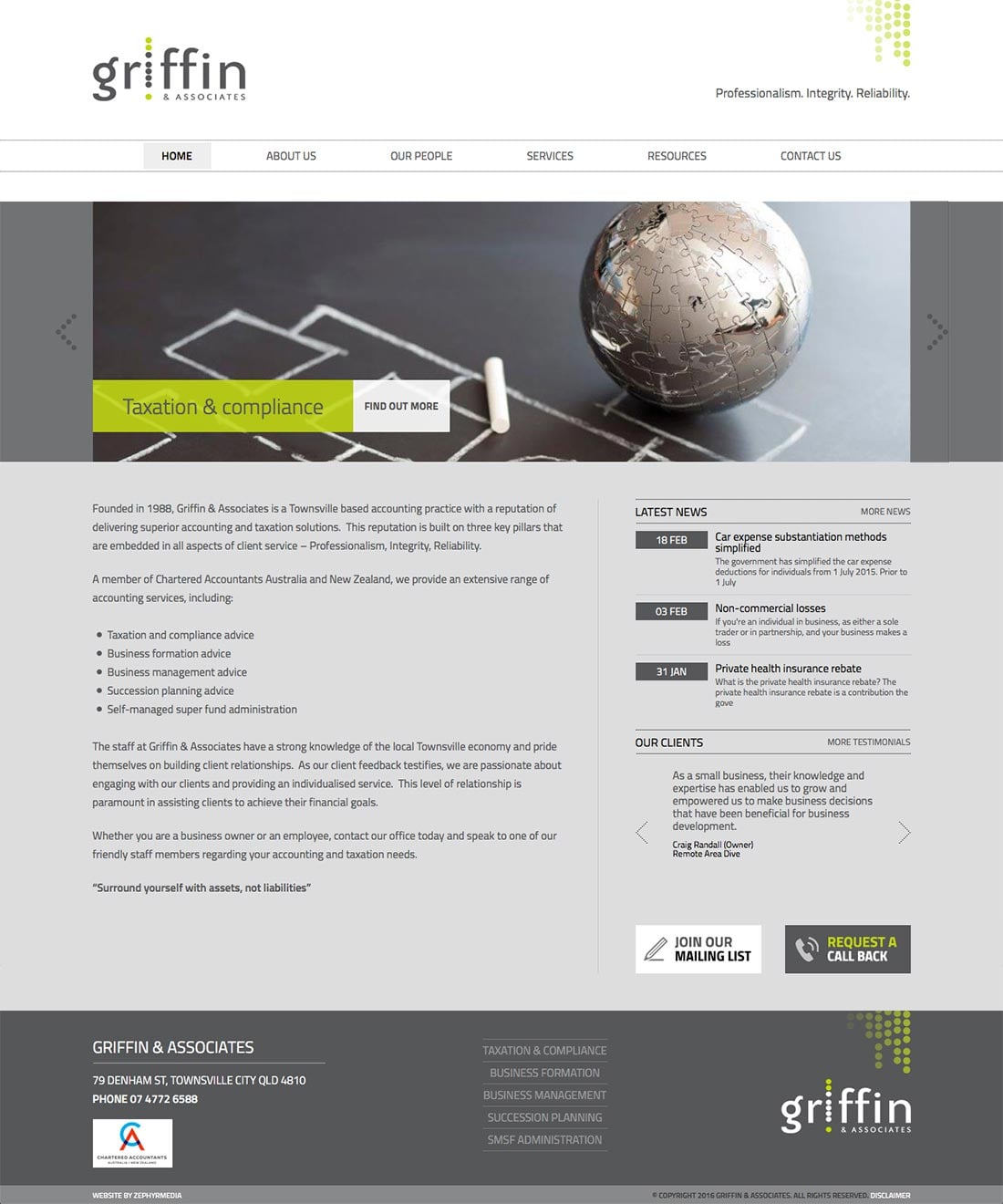 New Brand & Website by Zephyrmedia
