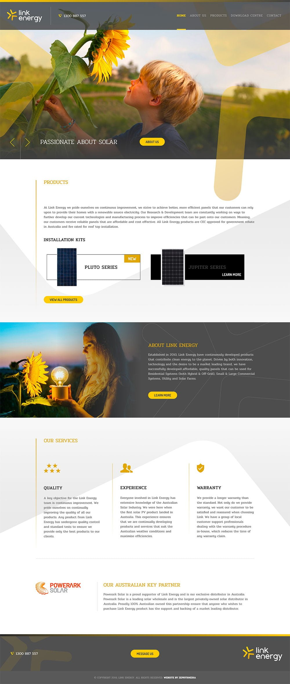 Website Design by Zephyrmedia