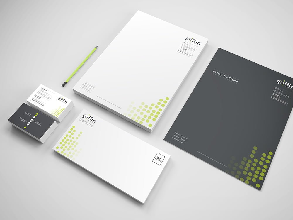 Griffin & Associates Stationery