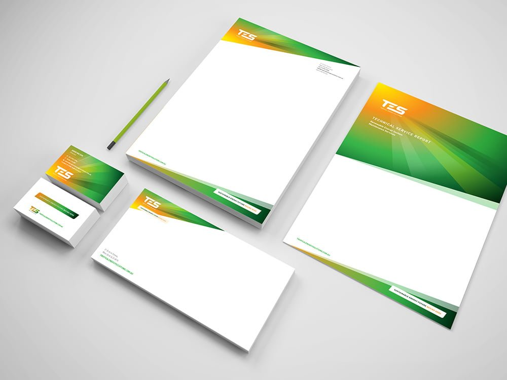 Tropical Energy Solutions Stationery