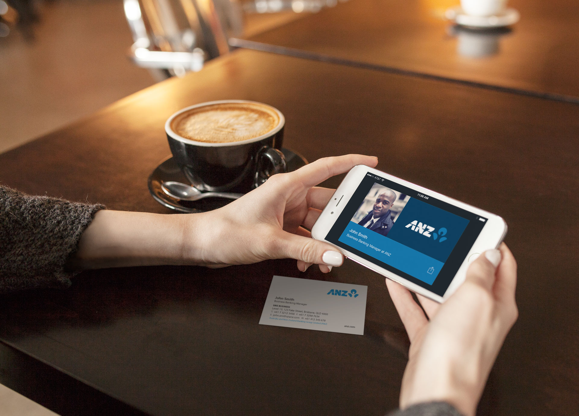 Digitally store business cards on your phone | Web Design Gold Coast ...